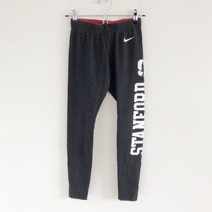 Nike x Stanford Spellout Graphic Print Leggings S